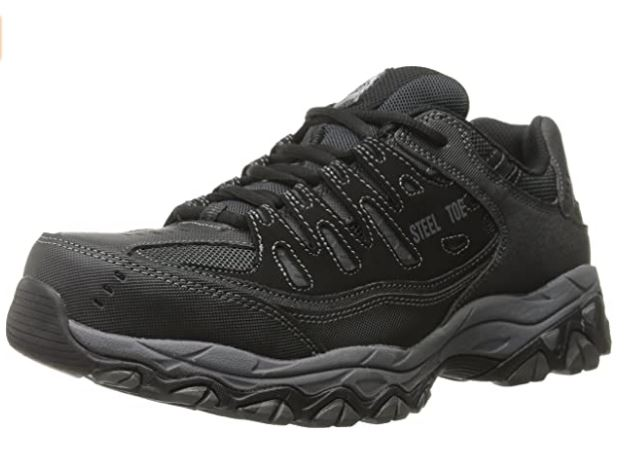 10 Sketchers for Work 77055 Cankton Athletic Steel Toe work sneaker