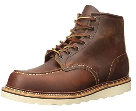 best shoes for roofing : Red Wing Heritage Men's Moc 6 Inch Boots