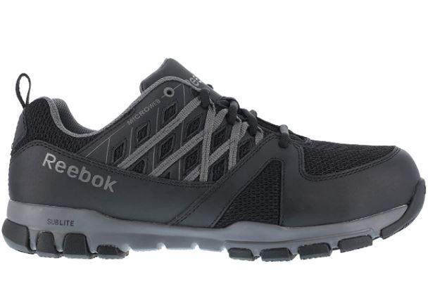 7 Reebok RB4016 Reebok Mens Sublite Safety Pair of shoes - Black – 4.5 – M