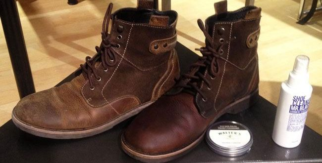 Saddle-Soap-on-Boots-Cleaning