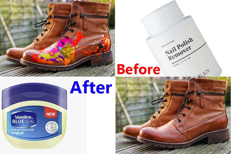 how-to-get-paint-off-leather-boots-easily