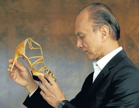 Jimmy Choo Designed His First Pair Of Shoes At 11 Years