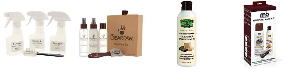 BEARPAW Boot Care Kit Clear