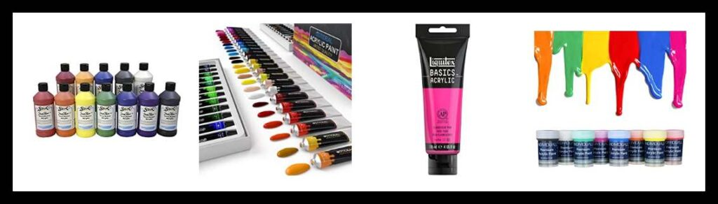 best Acrylic Paint for painting on canvas Shoes