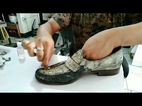 How To Get ACRYLIC PAINT Off Leather Boots