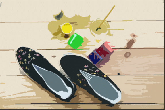 How To Prevent Acrylic Paint From Cracking On Canvas Shoes