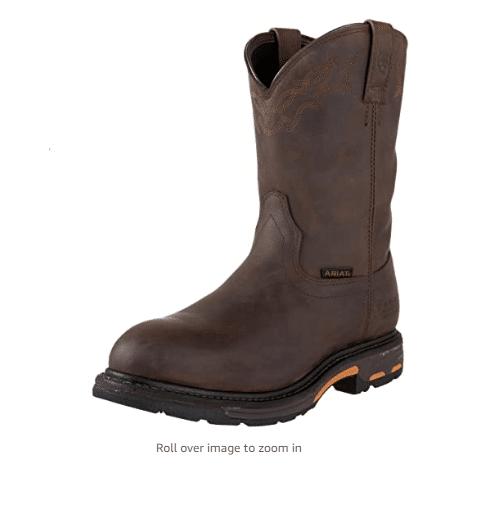 ARIAT Men's Workhog H2o pull on Work Boot