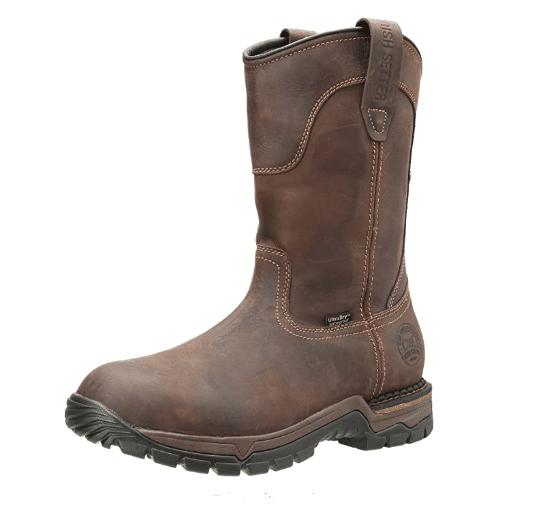 Irish Setter 83907-M Wellington Work Boot for concrete