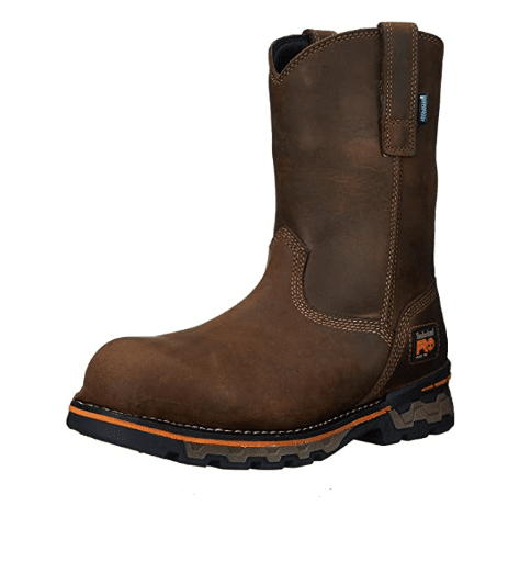 Timberland PRO Men's AG Boss Pull-On Alloy-Toe Waterproof Work Boot for concrete