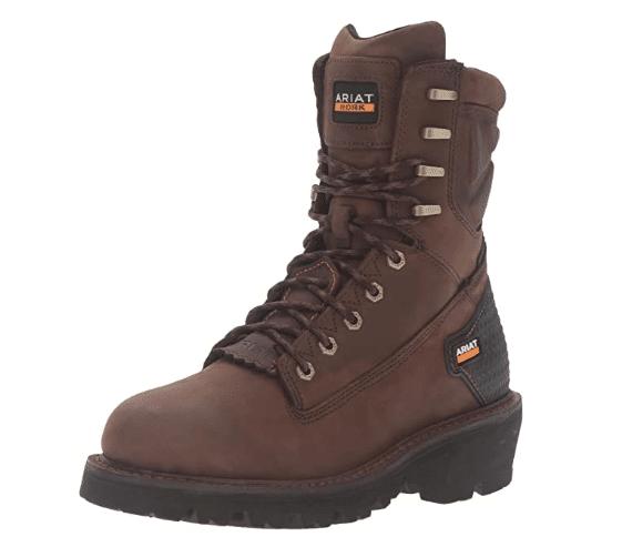 Ariat Men's Powerline 8 H2O lineman Work Boot