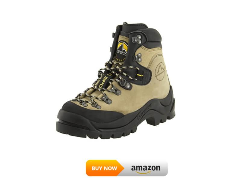 La Sportiva Men's Makalu, Natural, 43.5 lineman work boots
