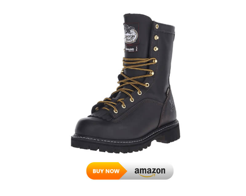 Georgia Boot Lace-To-Toe Gore-Tex Waterproof Insulated Work Boot for lineman