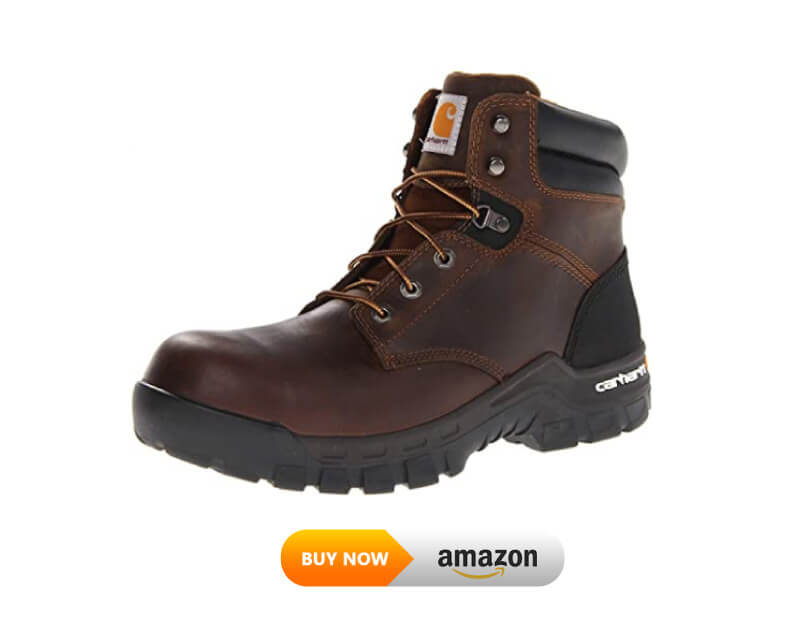 Carhartt Men's CMF6366 6 Inch Composite Toe lineman and logger Boot
