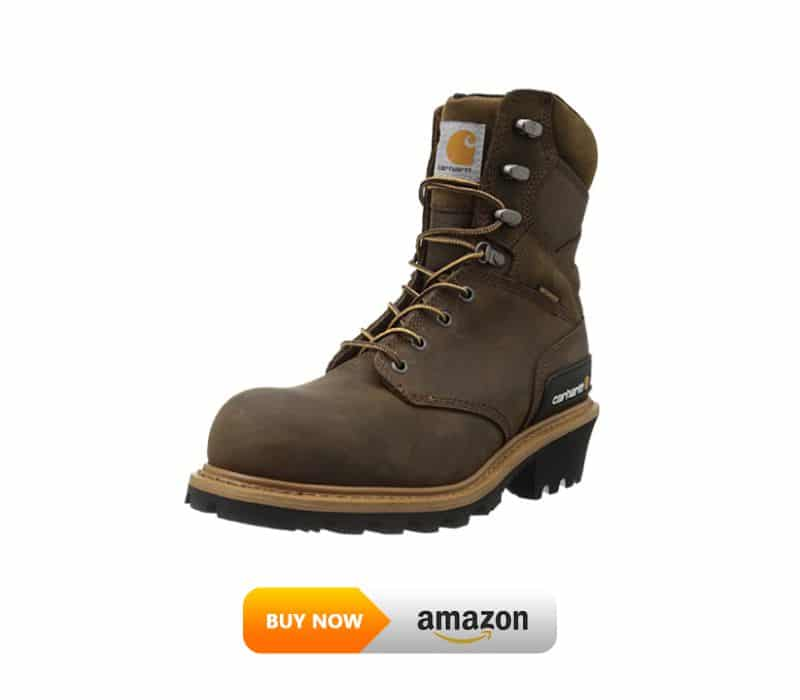 Carhartt  Waterproof Composite Toe Leather Logger Boot