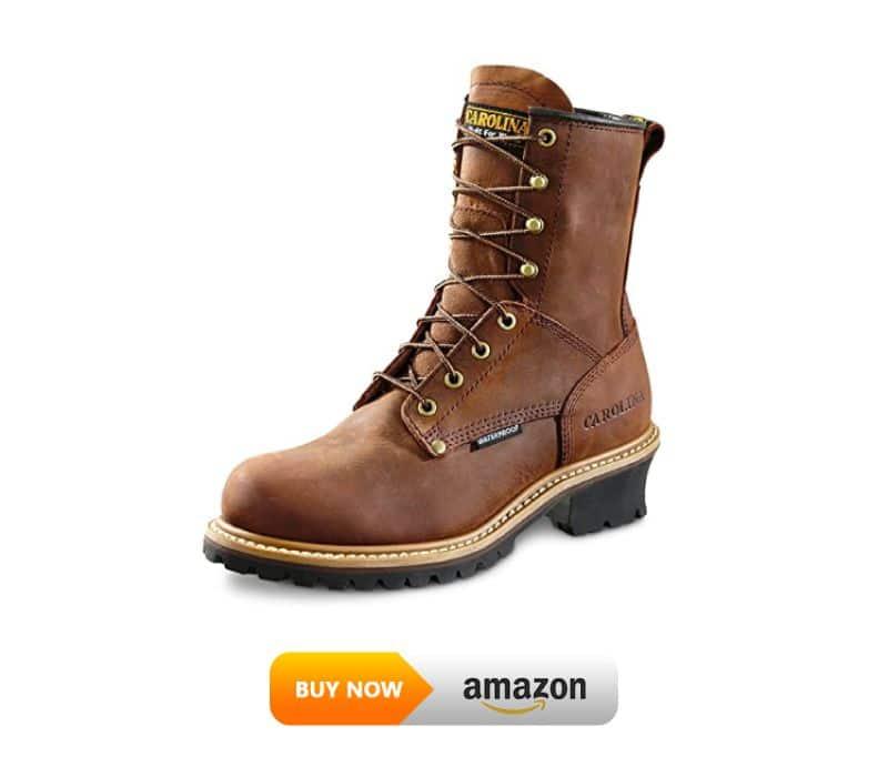 Carolina Boots Waterproof Logger Boots