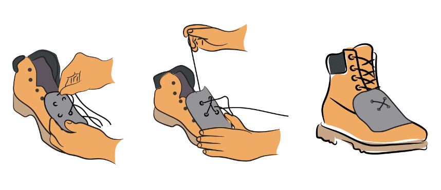 How To Lace Up Metatarsal Guard