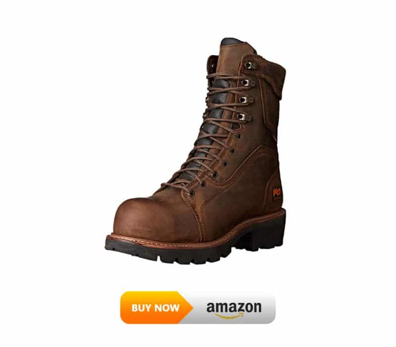 Timberland PRO Composite Safety Toe Waterproof Insulated Leather Logger Boot