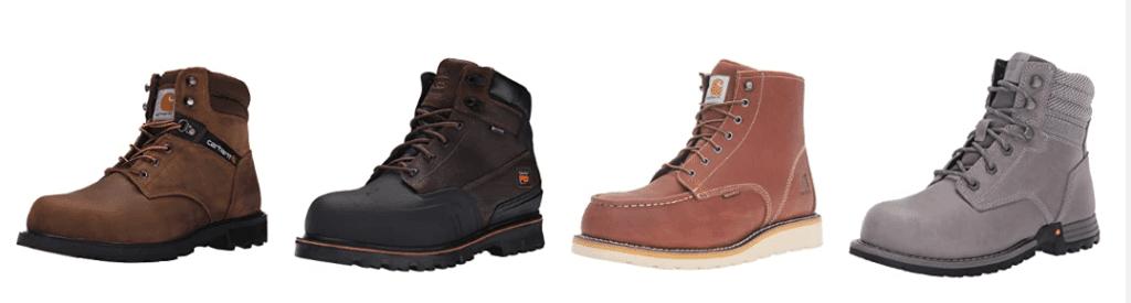 best steel toe work boots for men