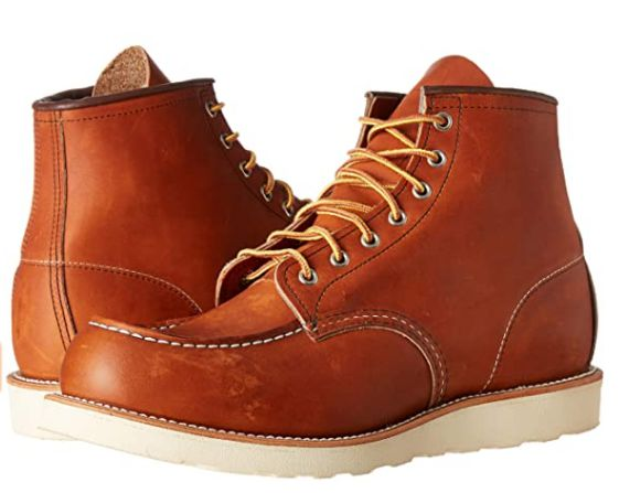 Red Wing Heritage shingle roofing boot